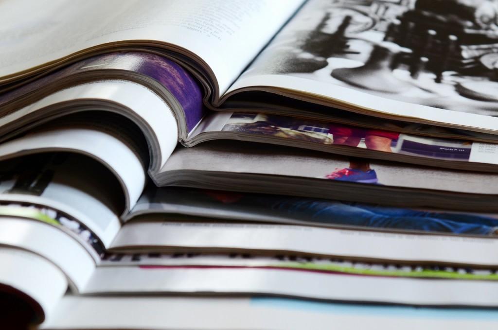 Vakbladen voor gratis publiciteit