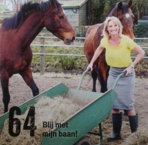 Nicky Corts in Margriet