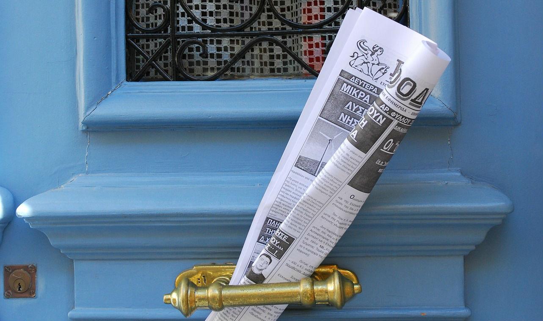 Hoe kom je gratis met een stukje of een artikel in de krant?