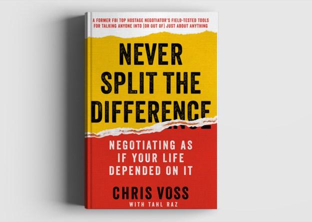 onderhandelen never split the difference