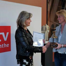 Wauw, ik heb de Vrouw in de Media Award 2017 voor Drenthe gewonnen!